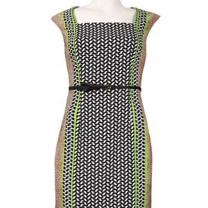 NWT London Times belted dress